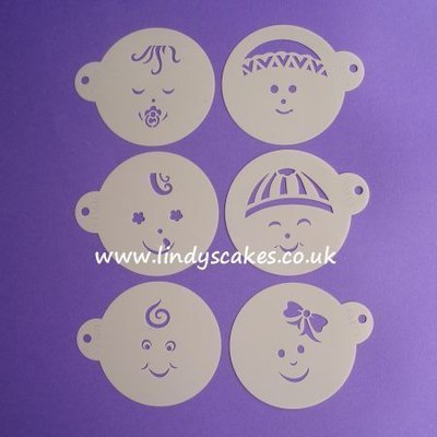 Baby Face Stencils (C736)