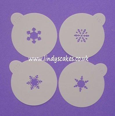 Snowflake Stencils - Mini   (C271)
