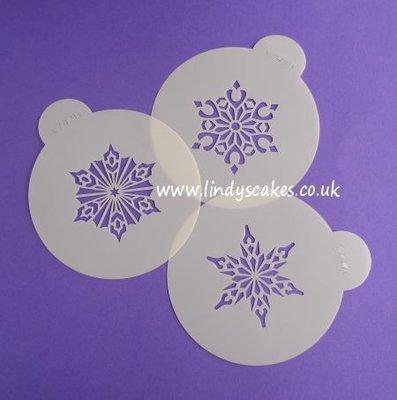 Snowflake Stencils Crystal #2 (C747)