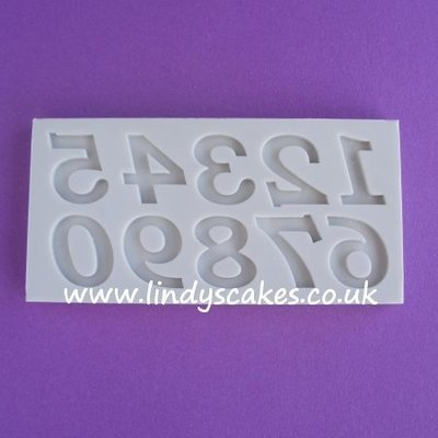 Numbers Mould Set - Bookman Old Style  (AM067)