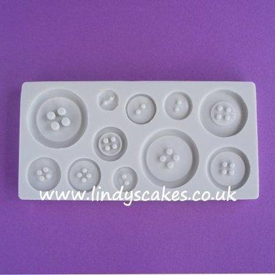 Button Mould - Plain Set (AM087)