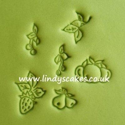 Fruit Designs for Garlands Embossing Sticks - Set 4