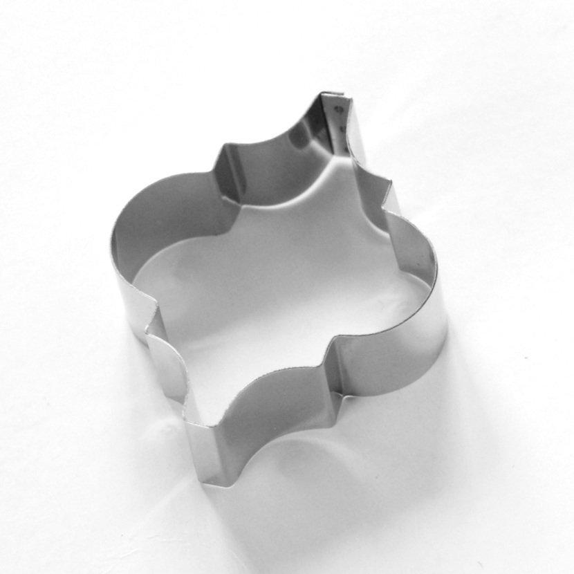 Tile- Large Interlocking Arabesque Sugarcraft Tile Cutter (Lindy's)
