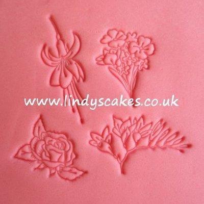 Flowers 2 Embossing Stamp Set (FMM)