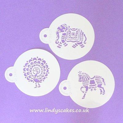 Indian Animal Stencils (C840)