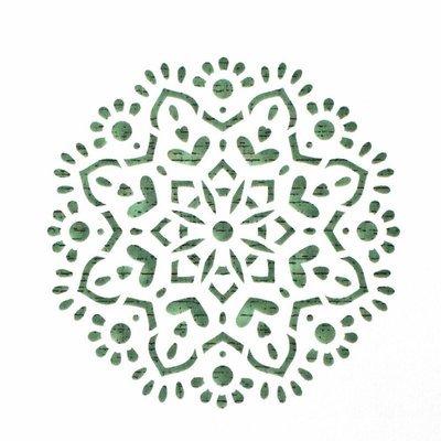 Mandala Cake Stencil #5 - CM062