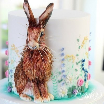 Bas-relief Hare Cake Decorating Class with Lindy Smith Ludlow, SHROPSHIRE