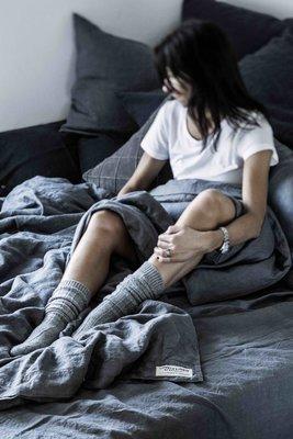Bettwäsche in 100% Leinen • Lovely Linen Misty