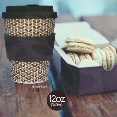 Kaffee Becher Coffee to Go • nachhaltig aus Bambus • hot & cool • 355ml