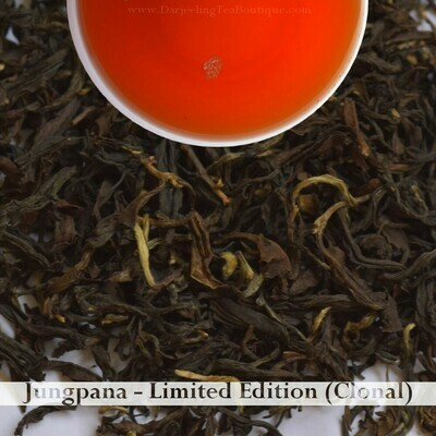 FRAGRANT JUNGPANA CLONAL   - Darjeeling Autumn Flush Tea 2019  (100gm / 3.5oz)