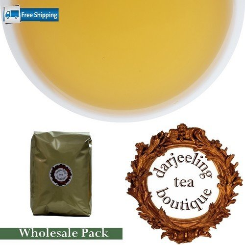 MONEY SAVER WHOLESALE PACK: Darjeeling First Flush Tea  1Kg (2.2lb)