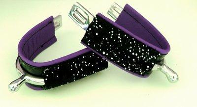 LUXURY Violet - Noir Cristal / PURPLE