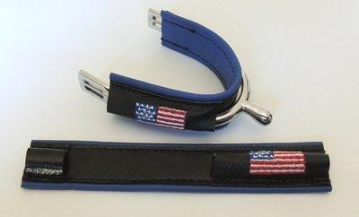 Duø Bleu Roi - USA / Blue USA flag