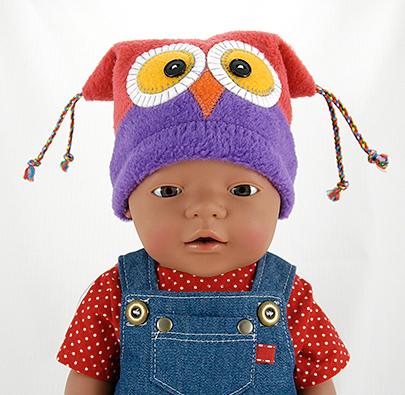 Free Owl Hat Pattern