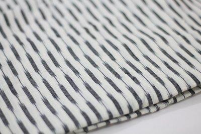 Handloom Ikat Dress Material in Off white Grey