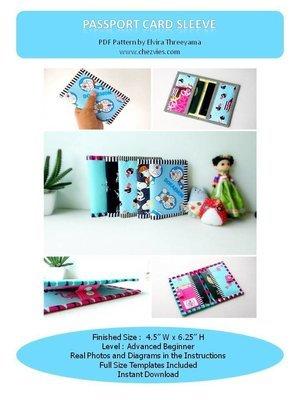 Pdf Pattern Mini Passport Wallet