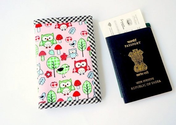 Cute Owl Passport Cover
