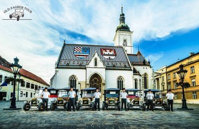 Advent 2018 in Zagreb - Private 75 Minutes Driving Tour of Christmastime Zagreb