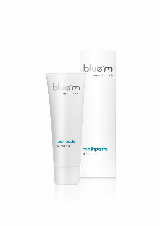 blue®m [pastă de dinți fără fluor - 75 ml]
