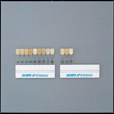 Cheie de culori Clearfil AP-X Esthetics