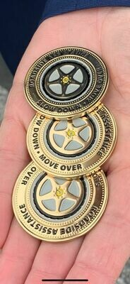 Slow Down Move Over Challenge Coin!