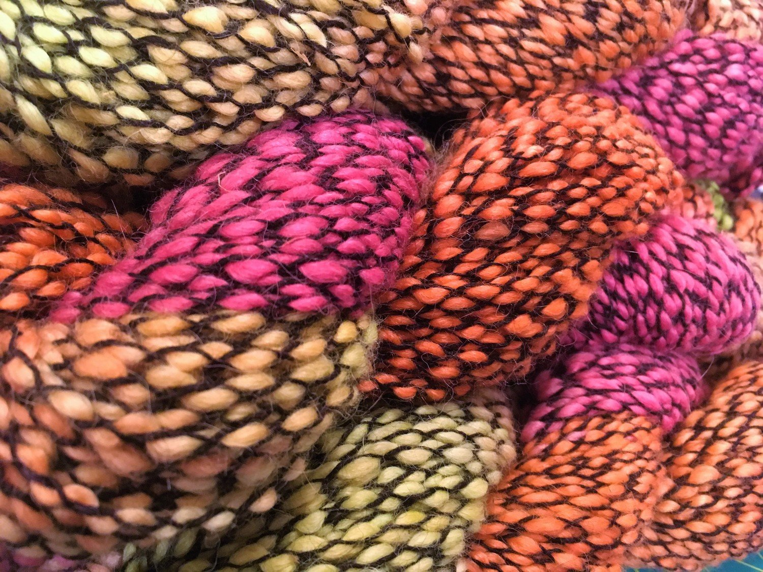 Breezy Hill Cottage-Milled, Corded Yarn - Sunset