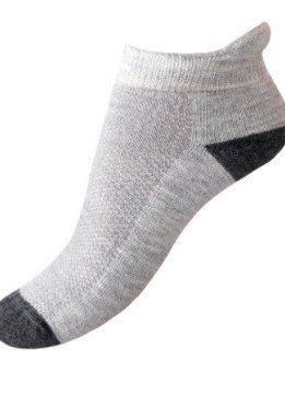 Alpaca Golf Sock - Small, gray/charcoal