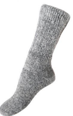 Alpaca Heavy Boot Sock - Medium, brown