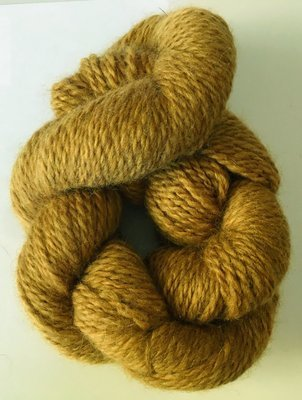 Breezy Hill Cottage-Milled, Hand-Dyed Yarn - Camel