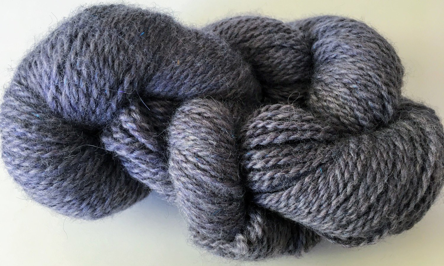 Breezy Hill Cottage-Milled, Hand-Dyed Yarn - Lavender