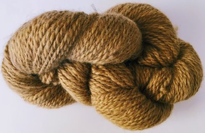 Breezy Hill Cottage-Milled, Hand-Dyed Yarn - Mocha