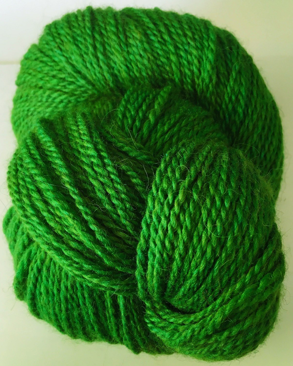 Breezy Hill Cottage-Milled, Hand-Dyed Yarn - Green