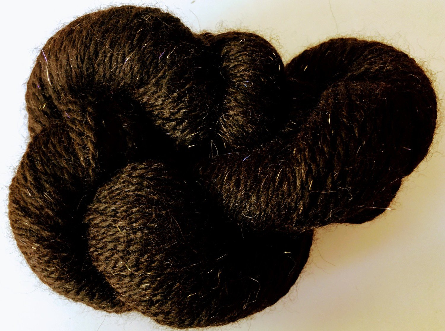 Breezy Hill Cottage-Milled Yarn, with filament - Espresso