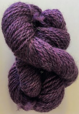 Breezy Hill Cottage-Milled, Hand-Dyed Yarn - Plum