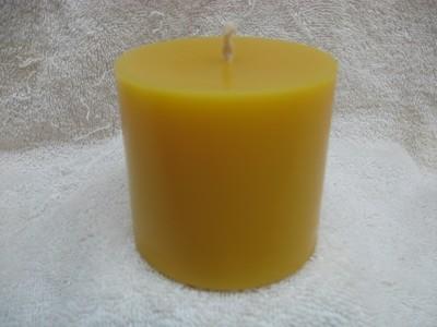 Plain Pillar Candle 3x3