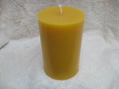 Plain Pillar 5x3 Candle