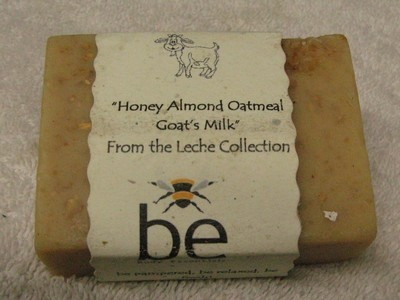 Honey, Almond, Oatmeal & Goats Milk Soap Bar