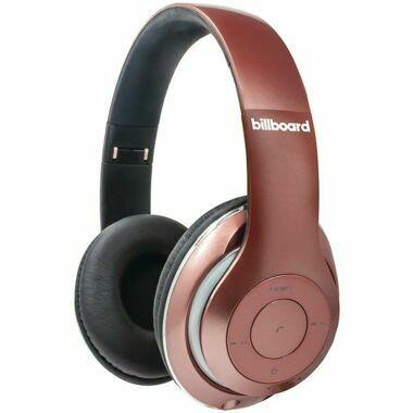 Billboard Headphones - Billboard BB486 Over-Ear Bluetooth (R) Foldable Headphones with Microphone