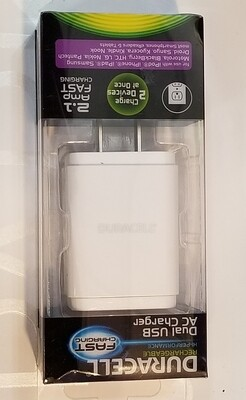Duracell Dual USB AC Charger