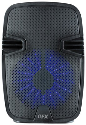 """QFX - 8"""" TWS READY RECHARGEABLE PARTY SPEAKER pbx-82"""