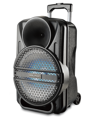 Dolphin SP-12ERBT - Party Speaker with Lights