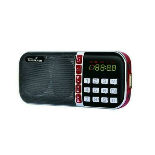 Digital Sunflash- AM/FM Radio (Z-124AM)