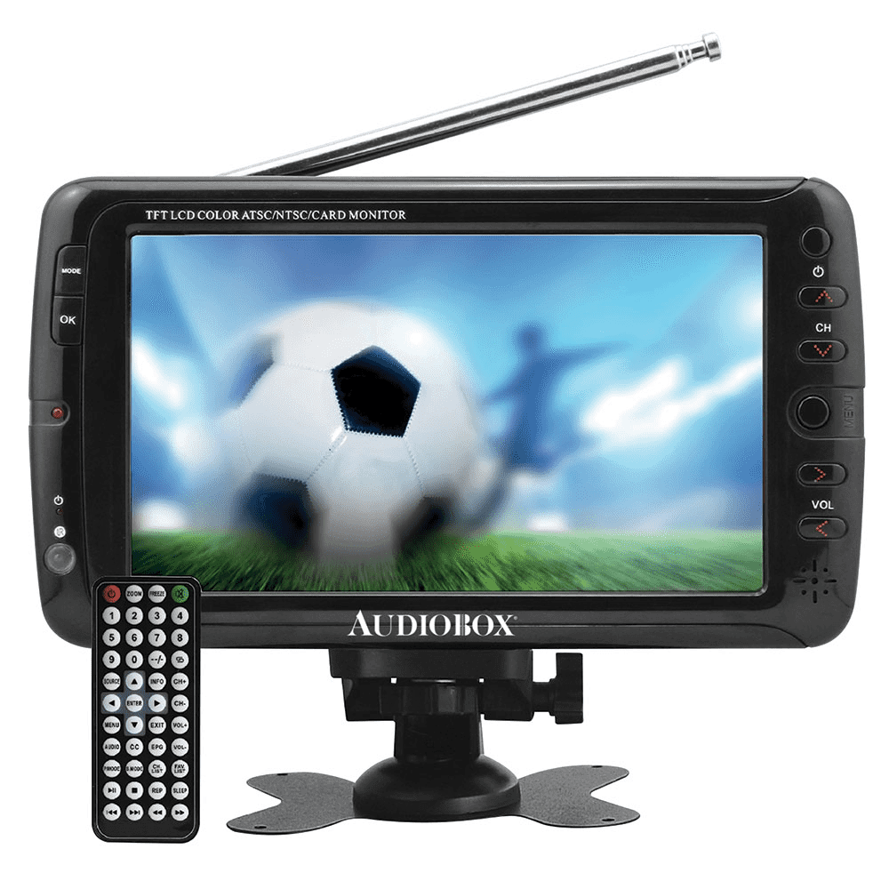 "Top Tech Audio 7"" Portable Tv"