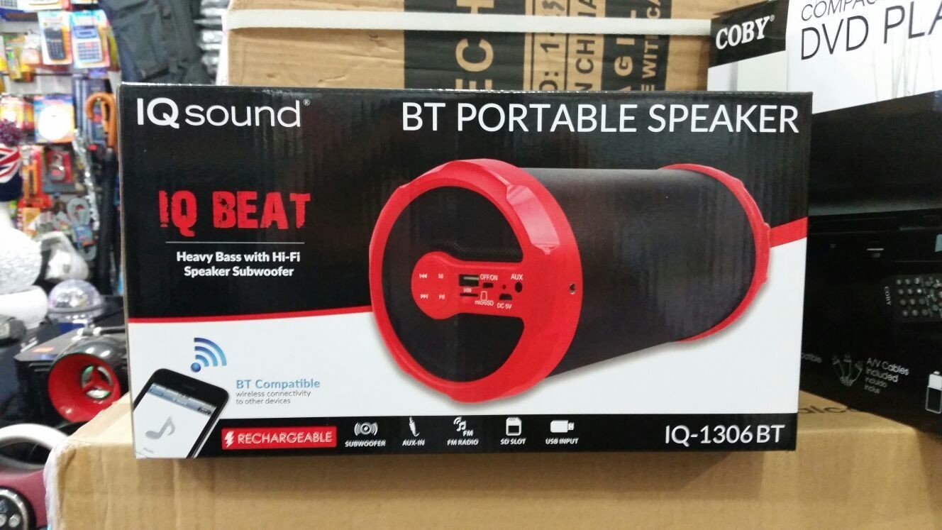 IQ Sound Portable Speaker