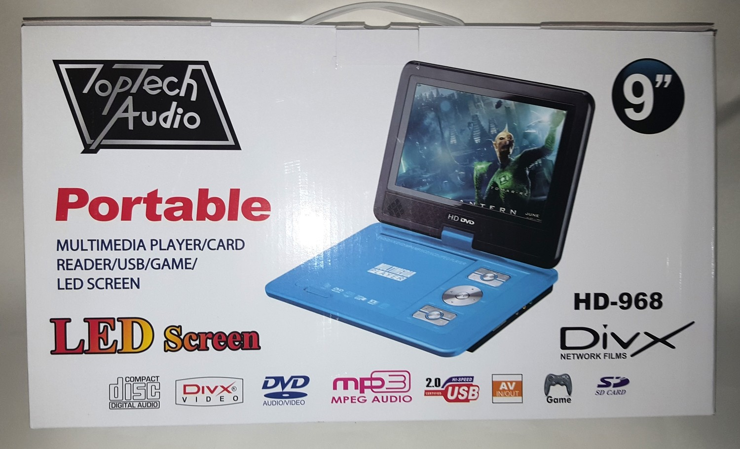 Toptech Audio HD-968 DVD player