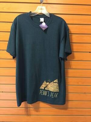 Penn's Peak Map T-shirt