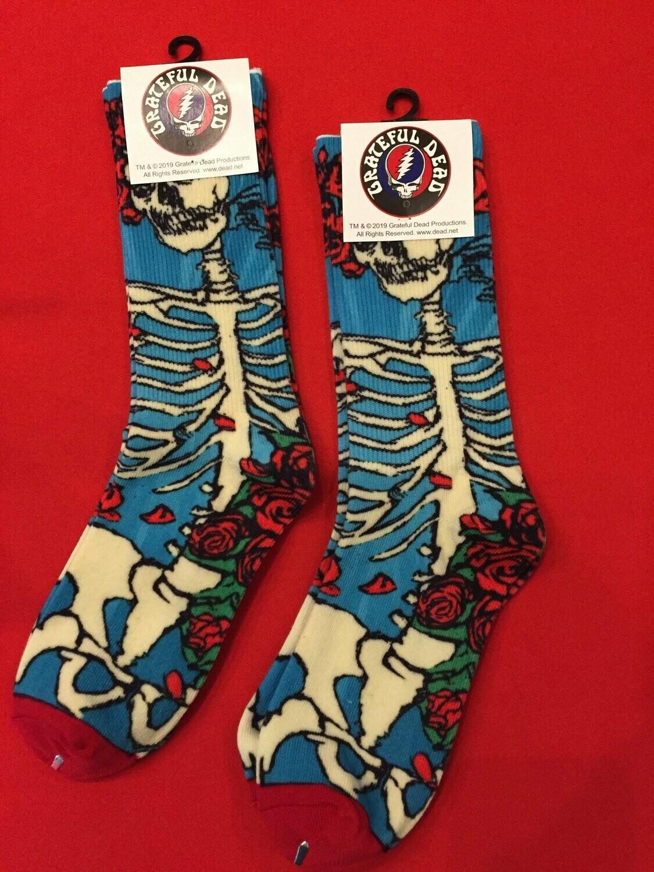 Grateful Dead Sublimation Socks