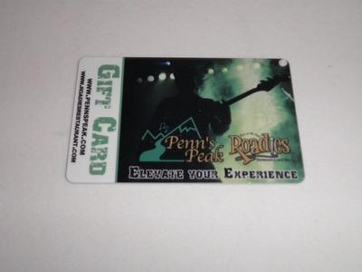 Penn's Peak Gift Card