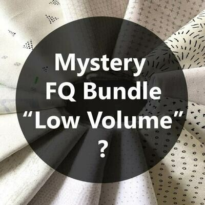 Mystery Fat Quarter Bundle - Low Volume