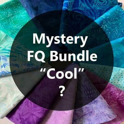 Mystery Fat Quarter Bundle - Cool